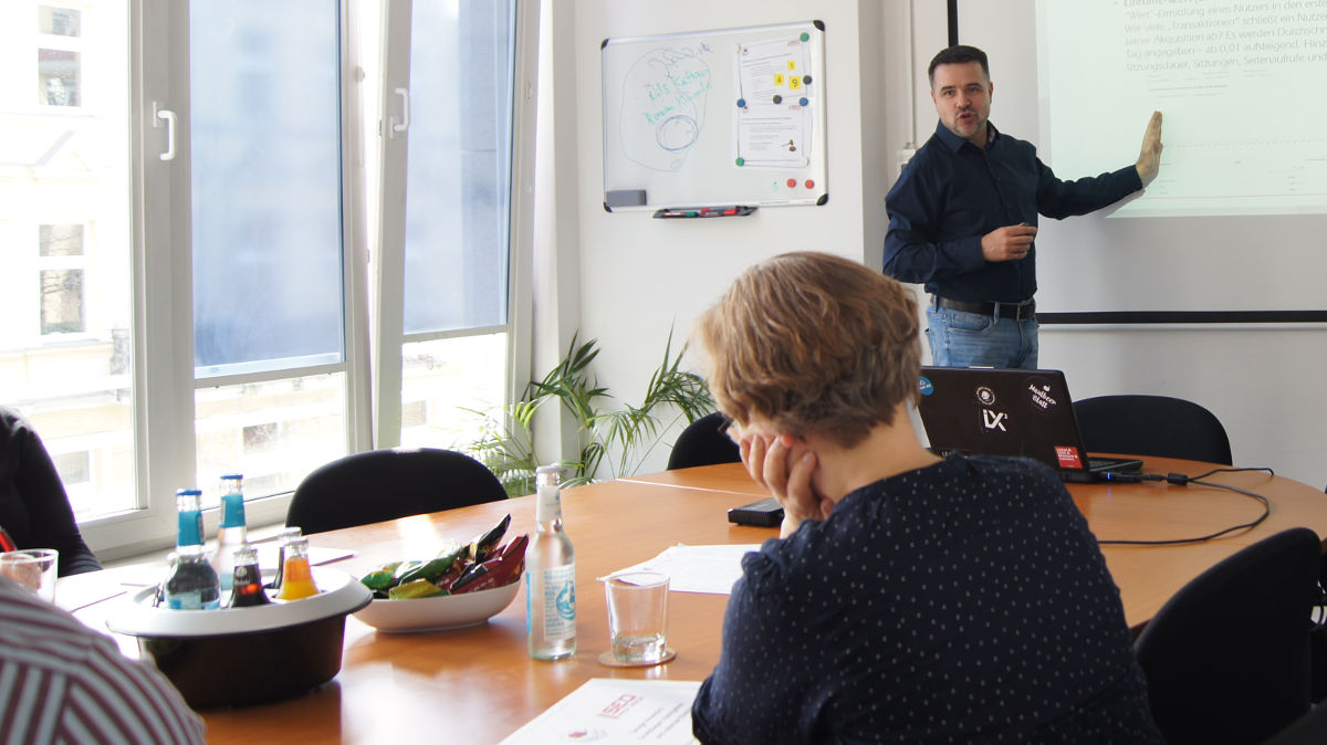 Google Tag Manager Workshop für Marketing-Menschen