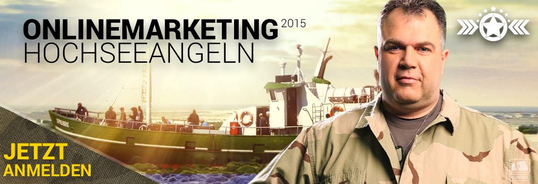 Onlinemarketing 2015 Hochseeangeln