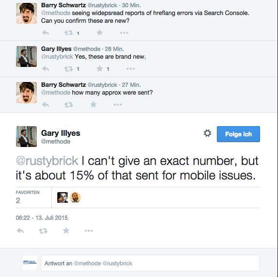 Barry und Garry im gespräch