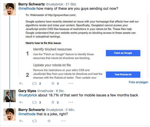 Barry Fragt nach
