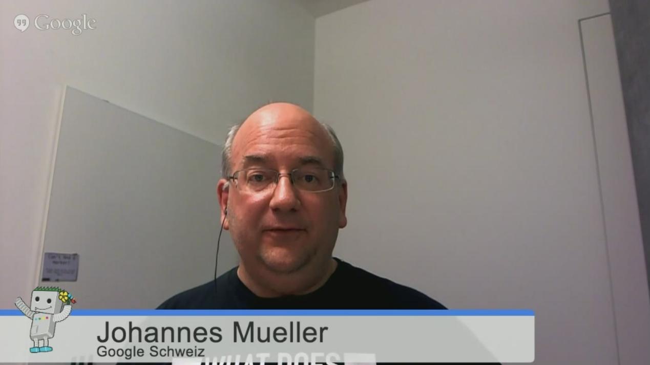John Mueller, Google