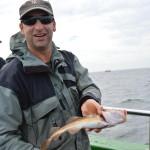 Fisch mit Fänger