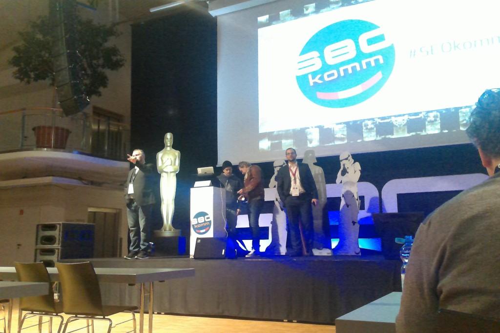 Vorbereitungen kurz vor Start der SEOkomm 2015