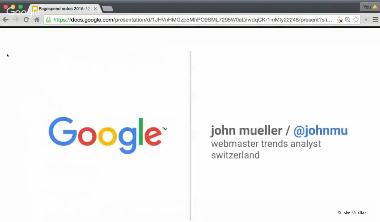 John Mueller Präsentation