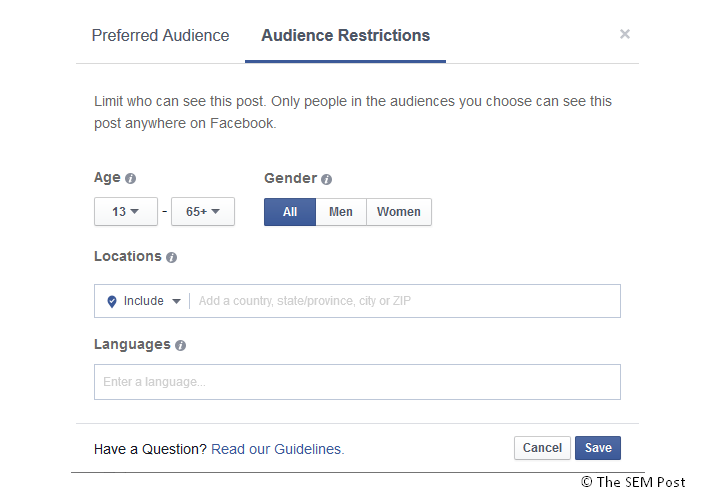 facebook audience