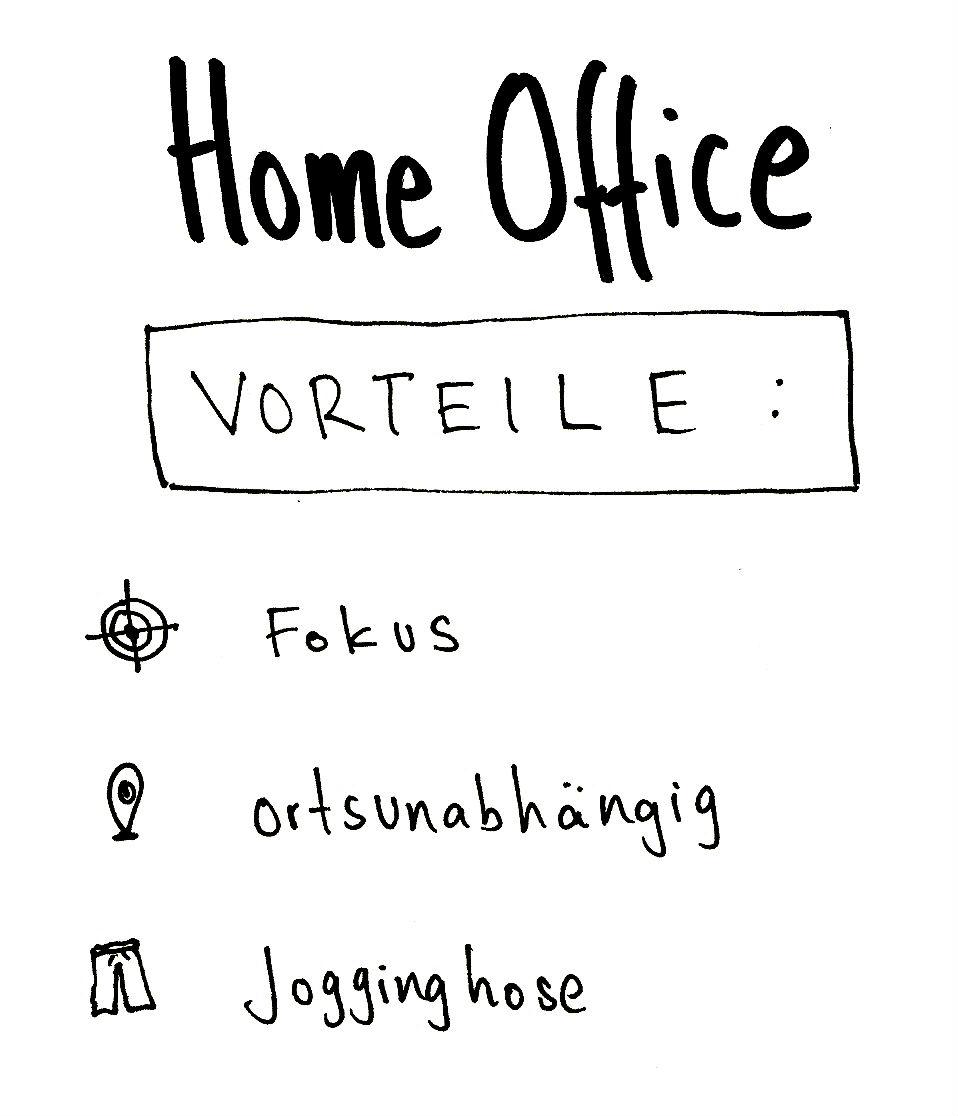 Vorteile HomeOffice