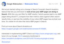 amp search console