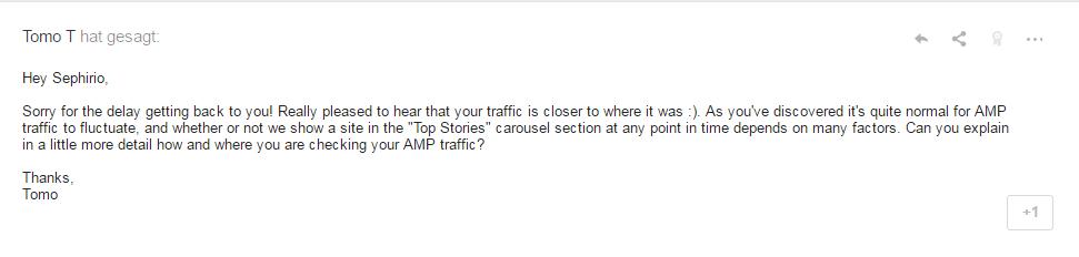 amp traffic
