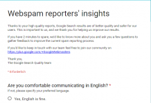 webspam report