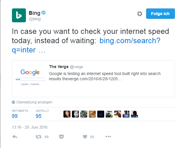 Bing Reply SERPs