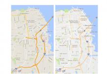 Google Maps Design