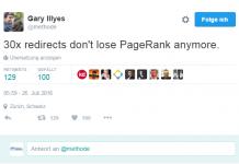 PageRank Weiterleitungen