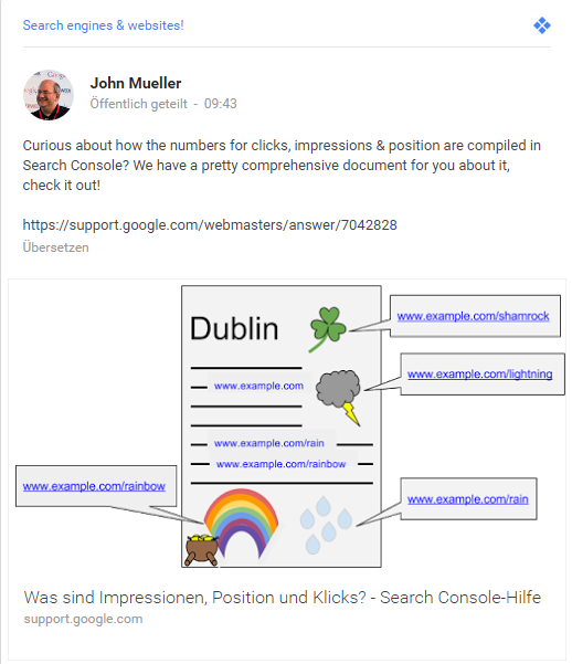 Search Console Dokumentation