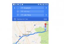 Zwischenstopps Maps
