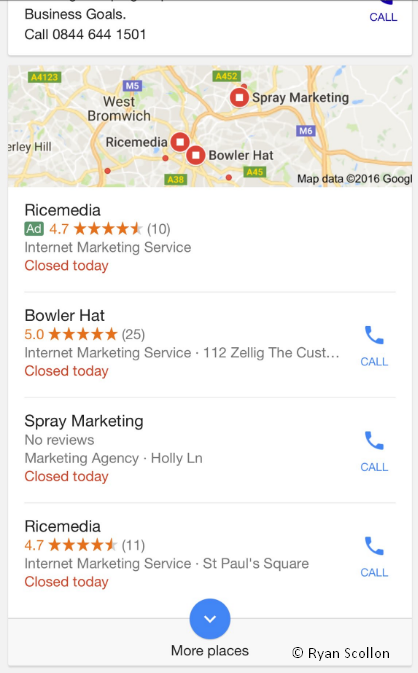 AdWords Local Pack II