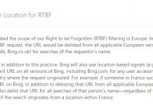 Bing RTBF