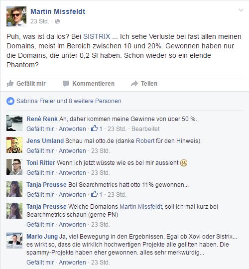 Update Mißfeldt