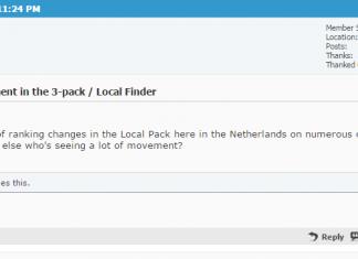 Local Pack Update