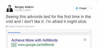adwords label