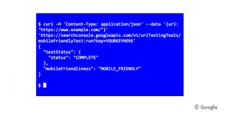 Mobile Test API