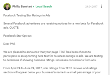 Fb Review Stars