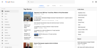 Google News Design