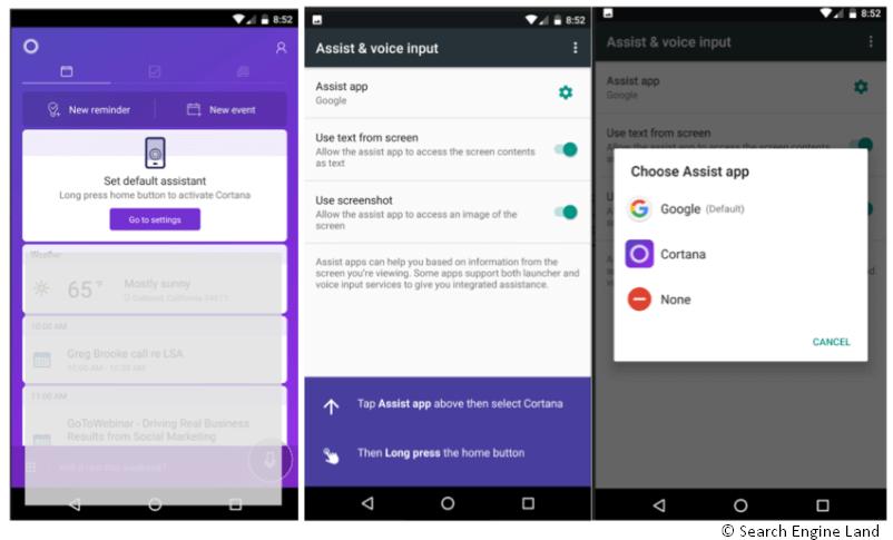 Contana Android