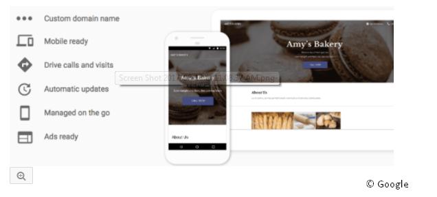 Google Websites