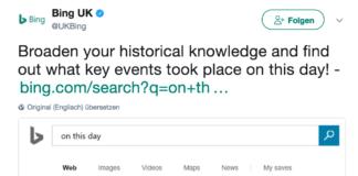 Bing History