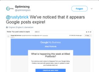 Posts Expire